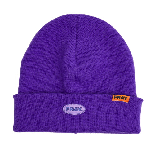 [FRAY] FRAY BEANIE - PURPLE