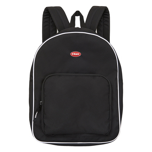 [FRAY] FRAY PIPING BACKPACK - BLACK