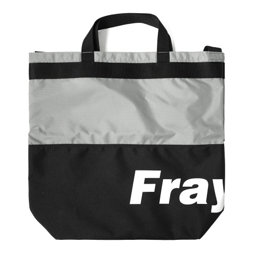 Fray Logo 2Way Bag - Black