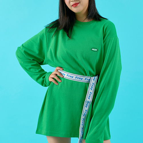 OVAL LOGO LONG SLEEVE - GREEN